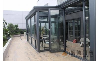 厅出阳台平台阳光房案例